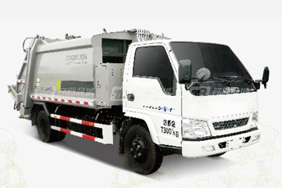 盈峰环境ZBH5070ZYSJXY5压缩式垃圾车(后上料)