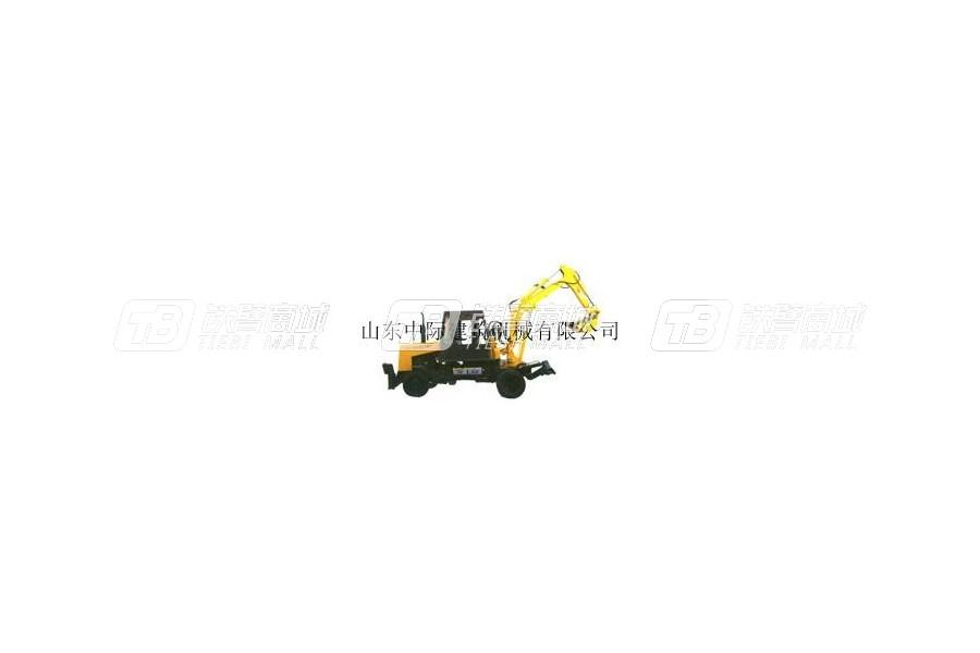中际WLY-3.0轮式挖掘机