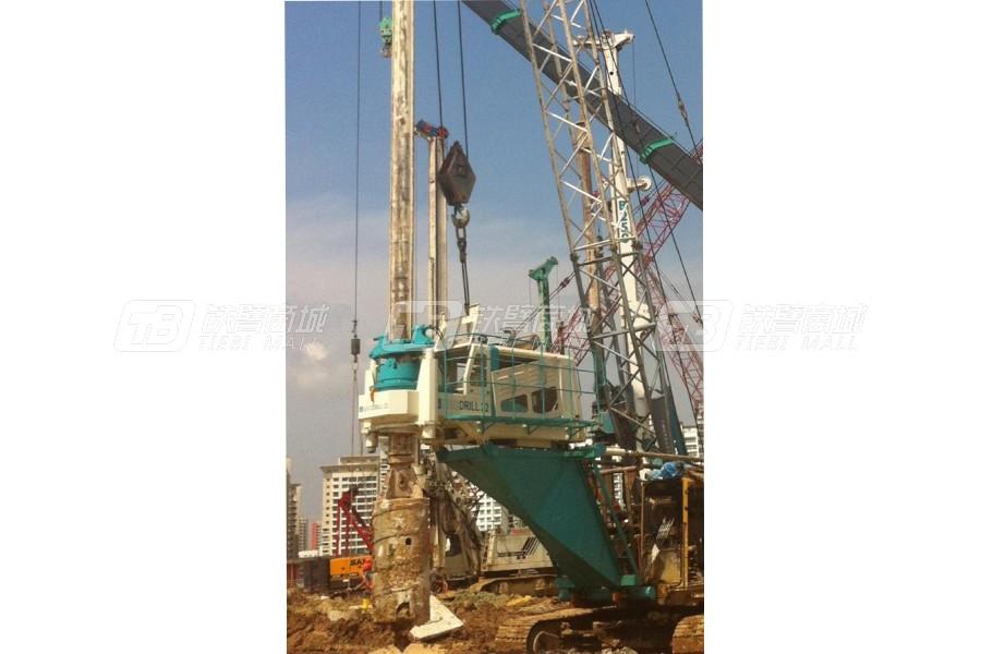 上工机械ZG220高台旋挖钻机