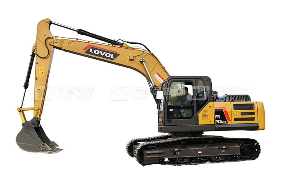 雷沃重工FR210E2-H履带挖掘机(中挖)