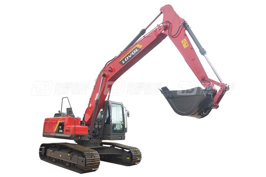 雷沃重工FR220E2履带挖掘机(高原机)