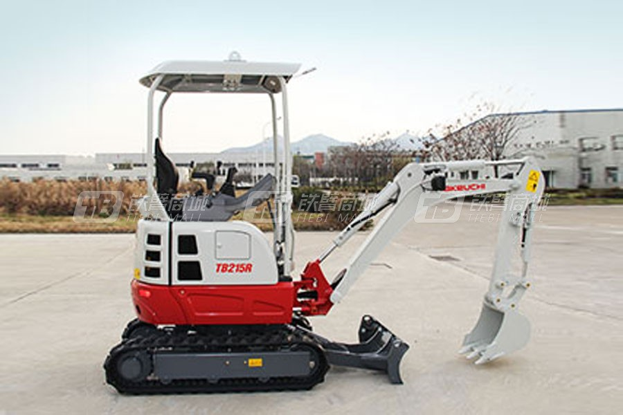 竹内TB215R履带挖掘机
