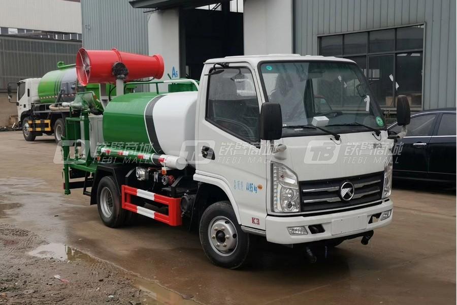 程力专汽CLW5030GPSK6【国六】凯马2方绿化喷洒车