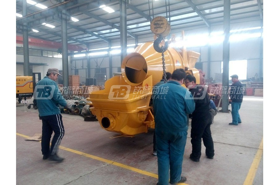 泰沃机械HBTS20-06-30混凝土搅拌输送泵