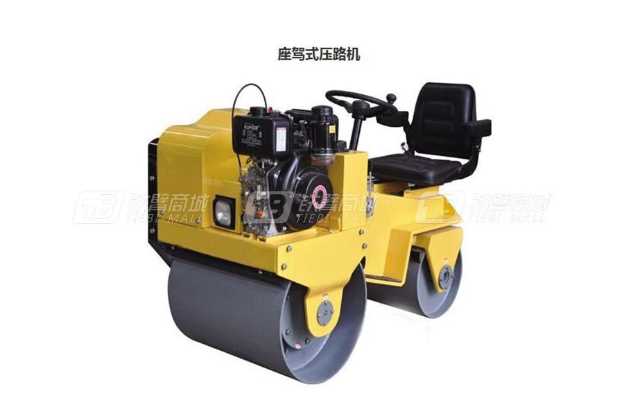 路维YZ1双钢轮压路机