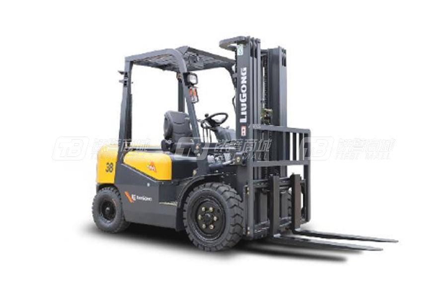 柳工CPCD38内燃3.8T平衡重式叉车
