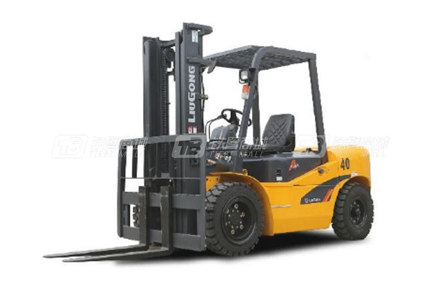 柳工CPCD40内燃4.0T平衡重式叉车