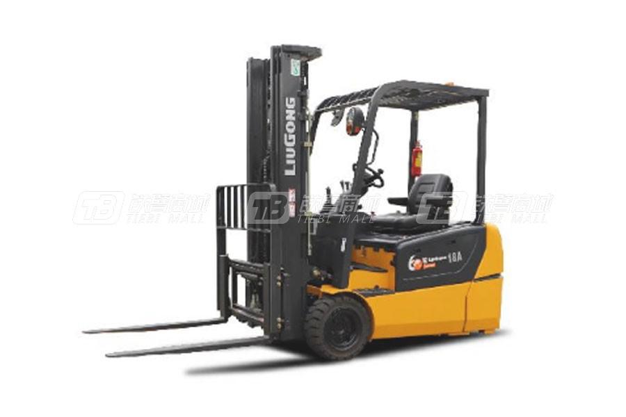 柳工CLG2018A-T三支点双驱1.8T电动平衡重式叉车