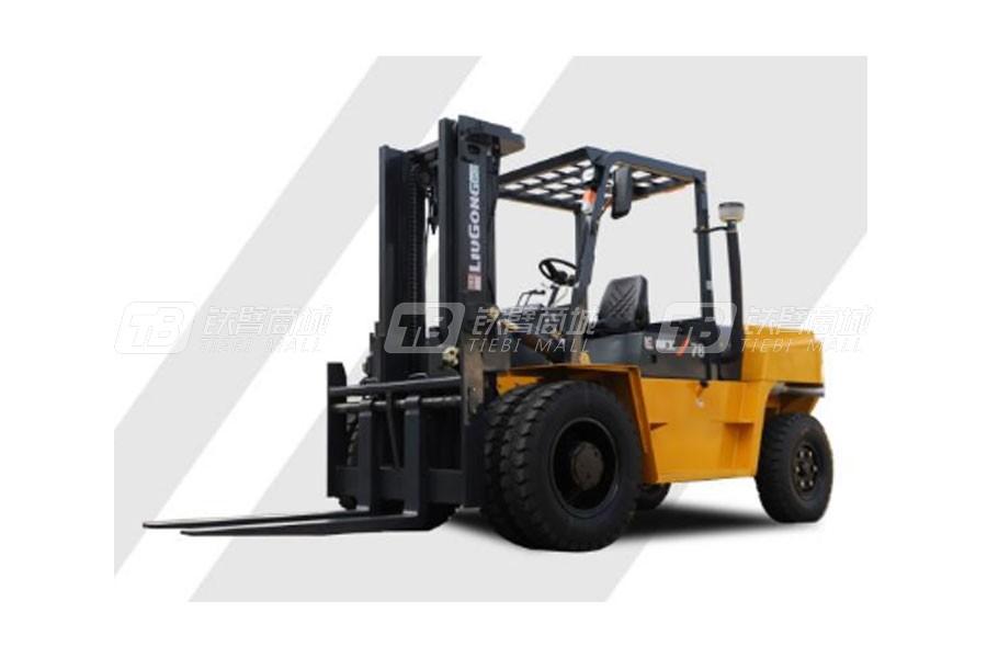 柳工CLG2078H内燃7.8T重载型平衡重式叉车