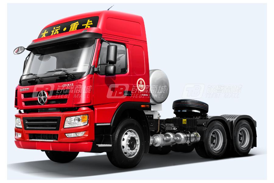 大运新N8E钜赢2.0版 6×4 LNG公路牵引车