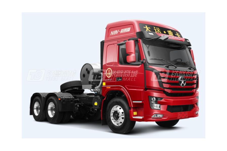 大运N8V质蕙2.0版 6x4LNG公路牵引车