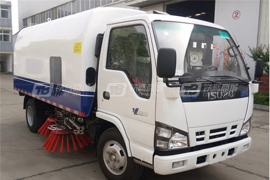 程力专汽CLW5070TSLQ5五十铃扫路车(1.5水/4尘)