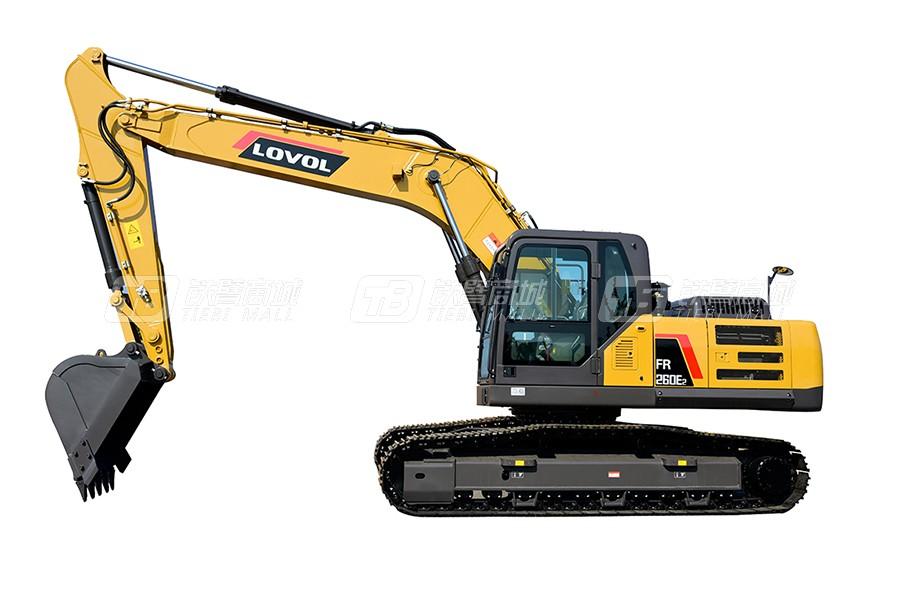 雷沃重工FR260E2履带挖掘机