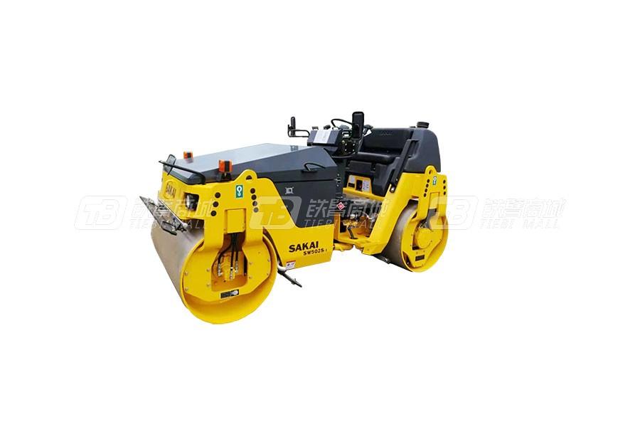 酒井SW502S-1双钢轮振动压路机 4-5吨级