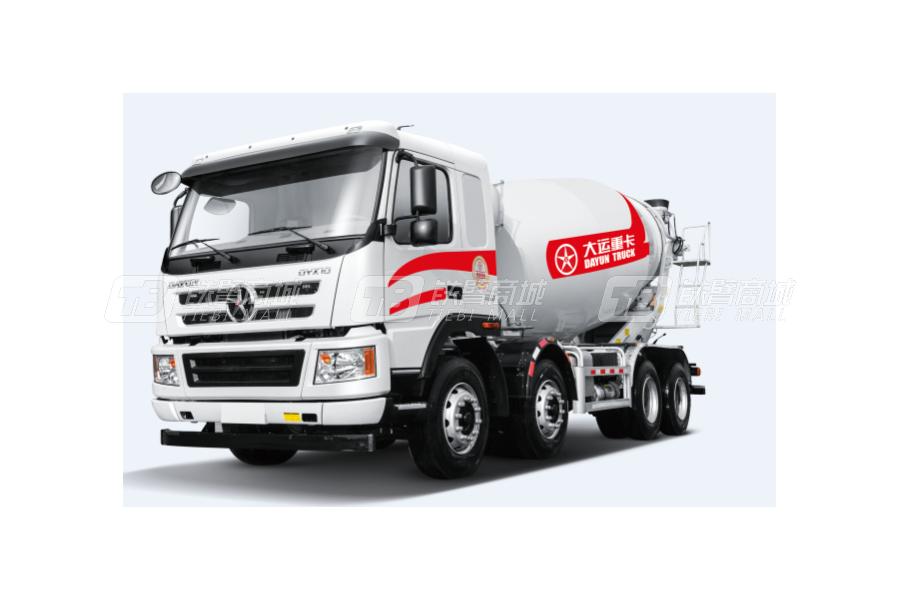 大运新N8E 8x4混凝土搅拌运输车