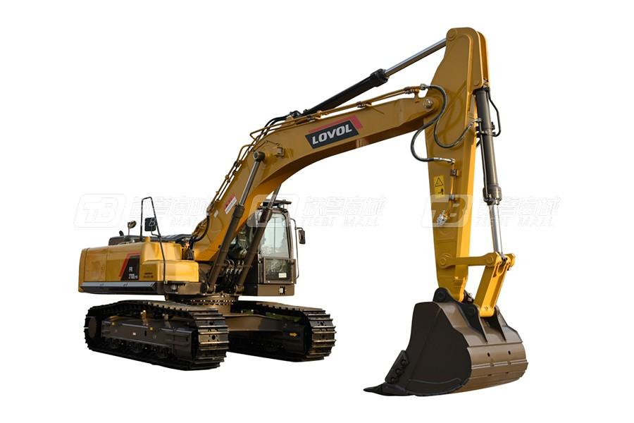 雷沃重工FR370E2-HD履带挖掘机