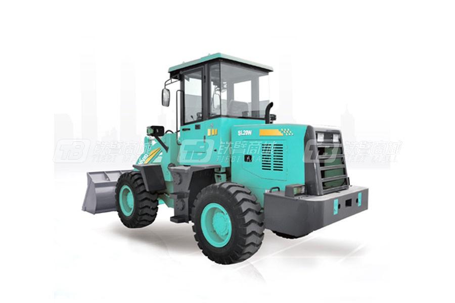 山河智能SL20W轮式装载机