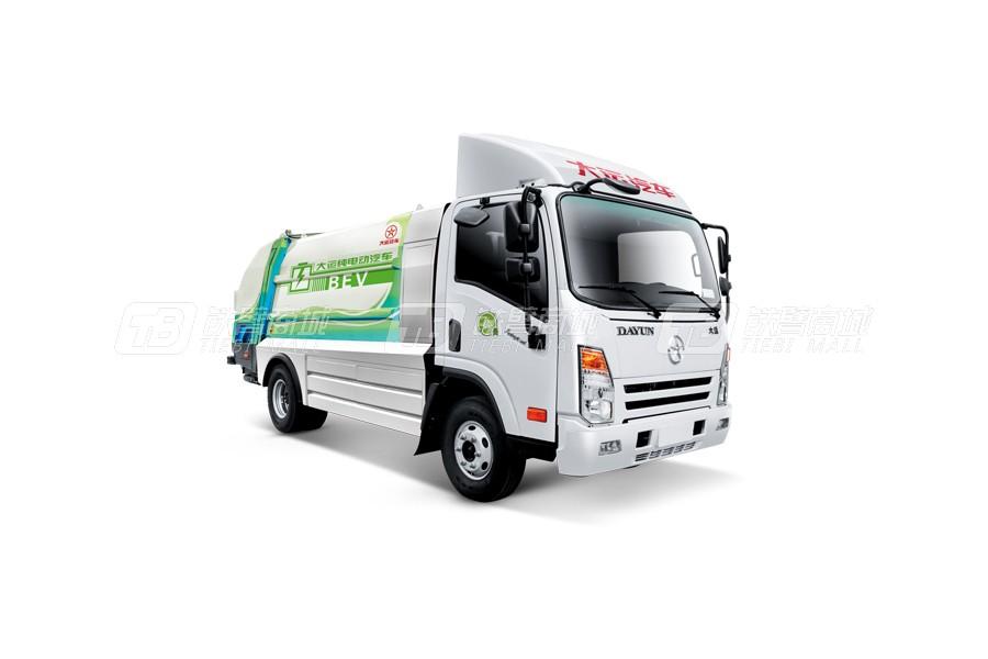 大运E3 4×2环卫垃圾车