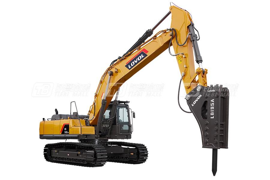 雷沃重工FR510E2-HD履带挖掘机