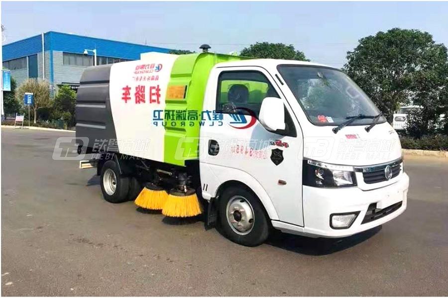 程力专汽HCQ5036TSLQC【国六】东风途逸蓝牌扫路车