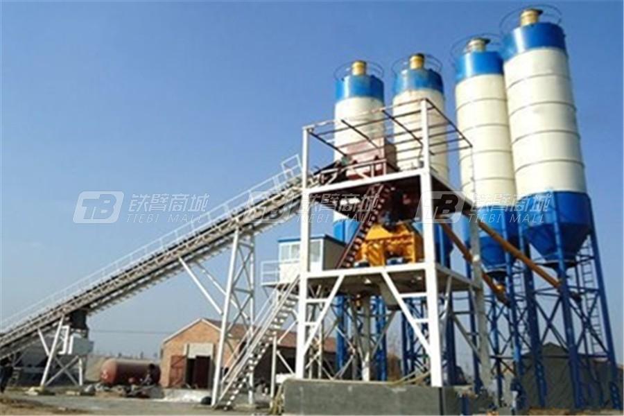合元建机HZS120混凝土搅拌站