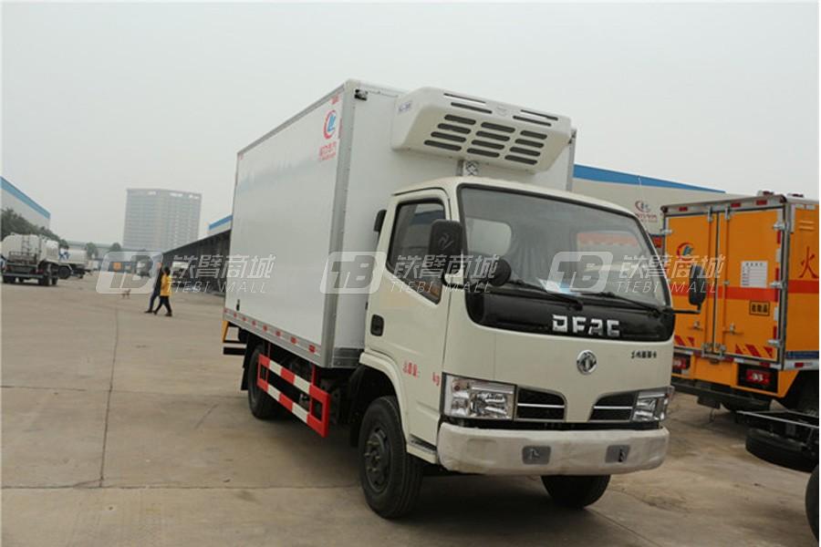 程力专汽CLW5040XLC5东风小多利卡冷藏车(厢长4.2