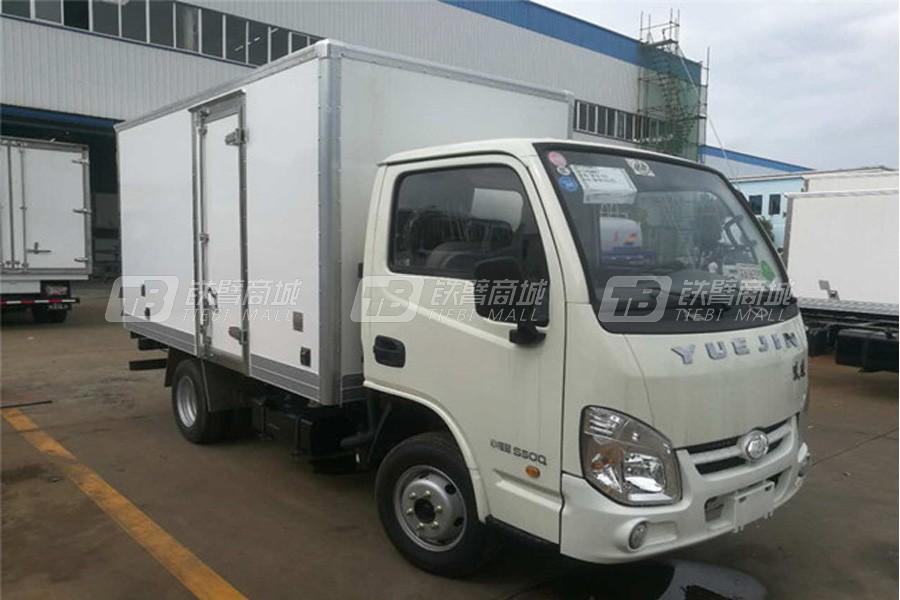 程力专汽NJ5032XLCPBGBNZ2跃进小福星冷藏车(厢长3.4米)