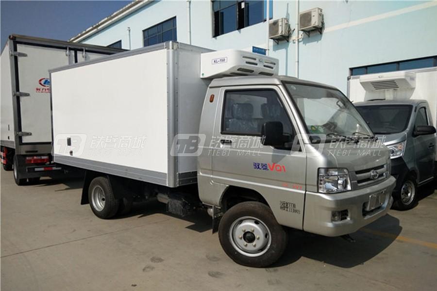 程力专汽CLW5030XLCB5福田驭菱冷藏车(厢长2.9米)