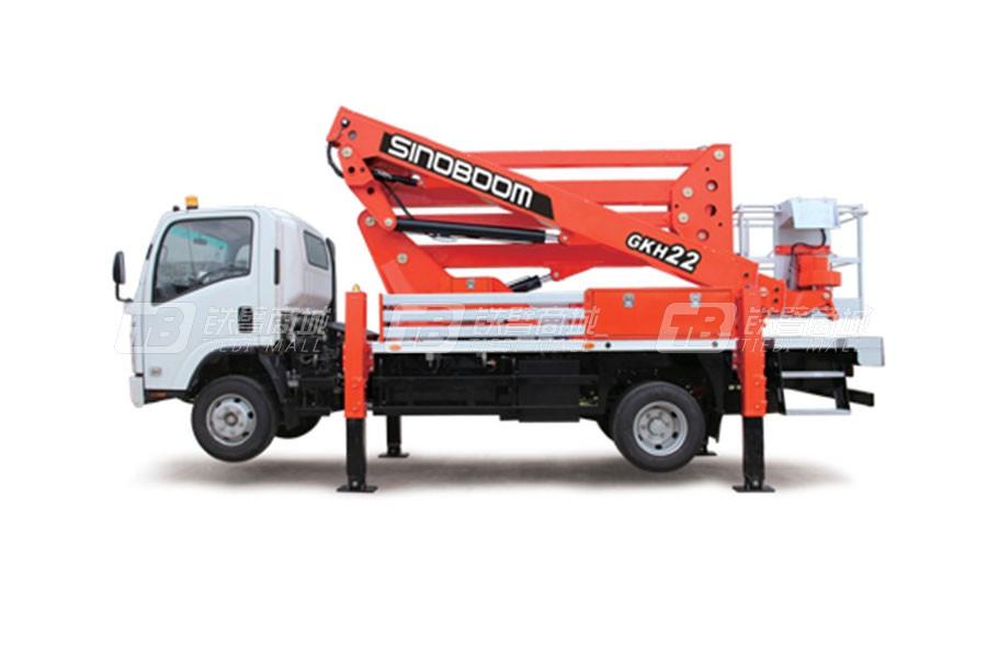 星邦重工GKH22车载式高空作业平台