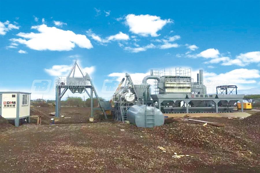东南机械YLB-80强制移动式沥青搅拌设备