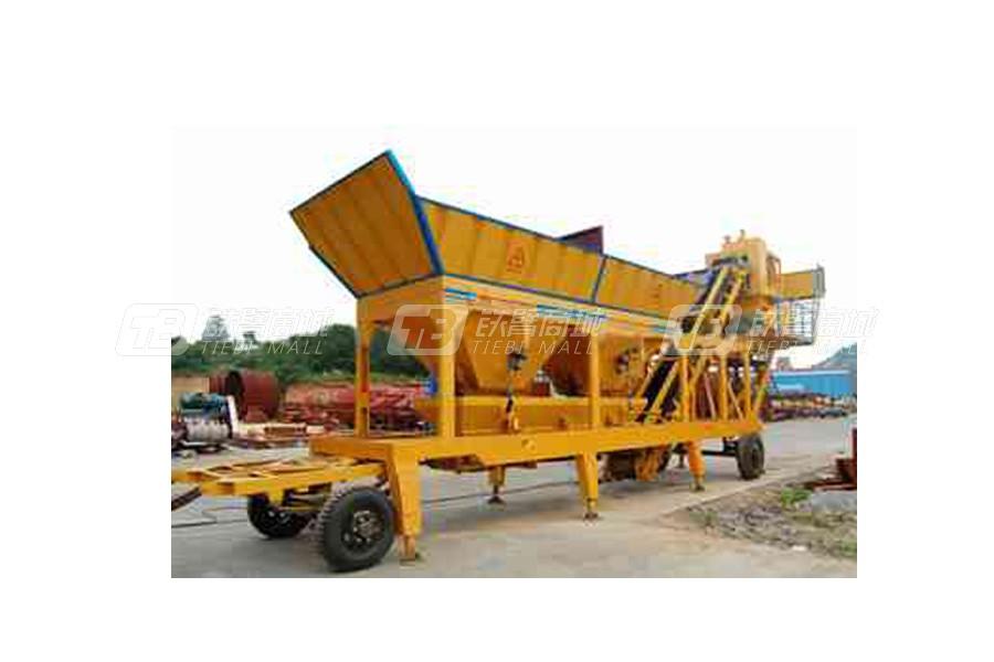 德科达HZS50YHZD(S)移动式混凝土搅拌站