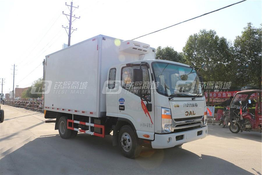 程力专汽CLW5041XLCH5江淮帅铃宽体冷藏车(厢长4.2