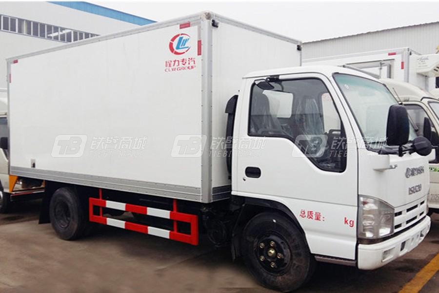 程力专汽CLW5040XLCQ5庆铃五十铃冷藏车(厢长4.2米)