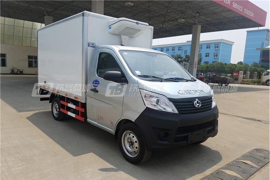 程力专汽CLW5020XLC5长安冷藏车(厢长2.7米)