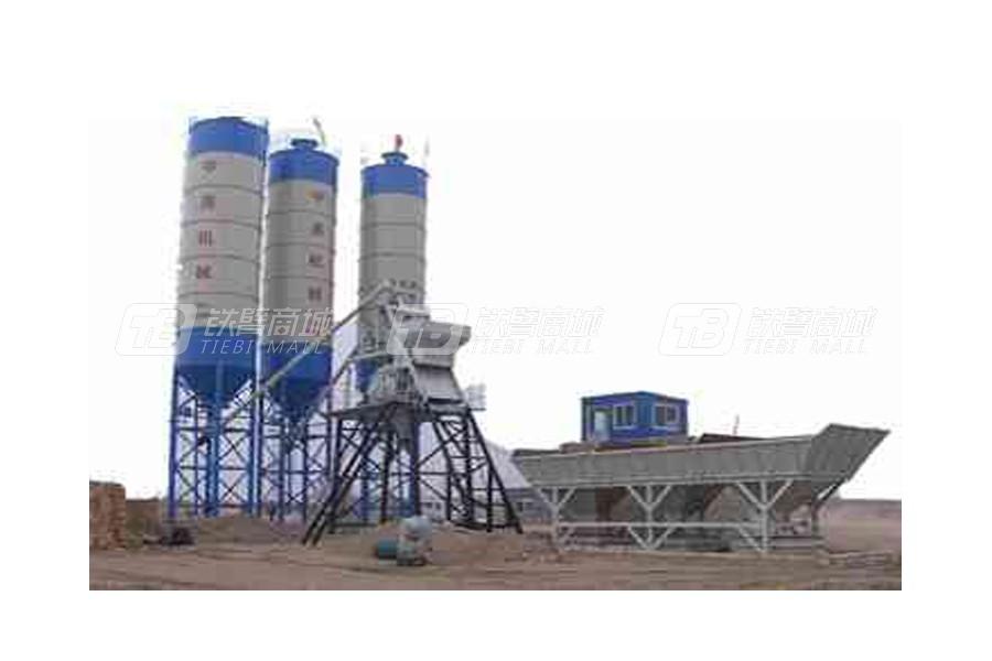 德科达HZS150混凝土搅拌站