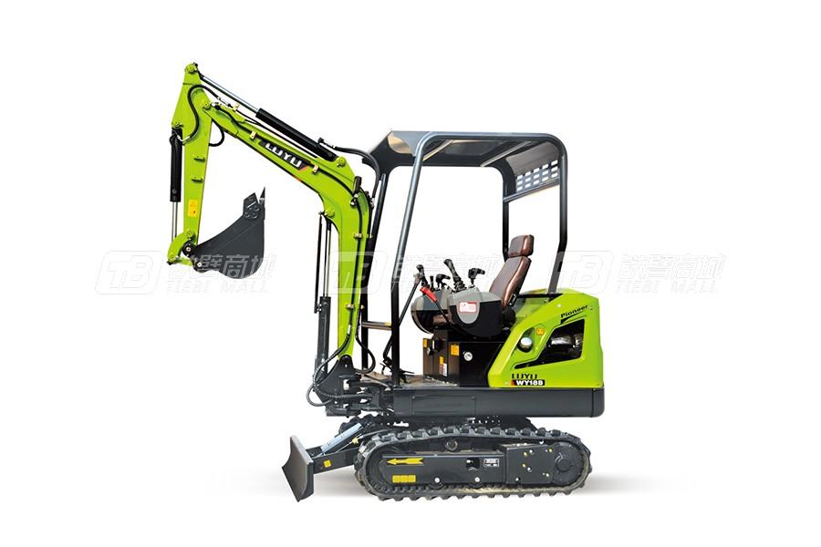 鲁宇LY18A/B履带挖掘机