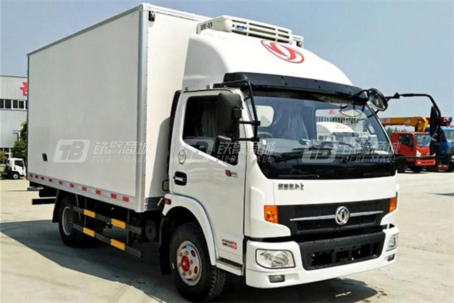 程力专汽东风凯普特4.2米冷藏车