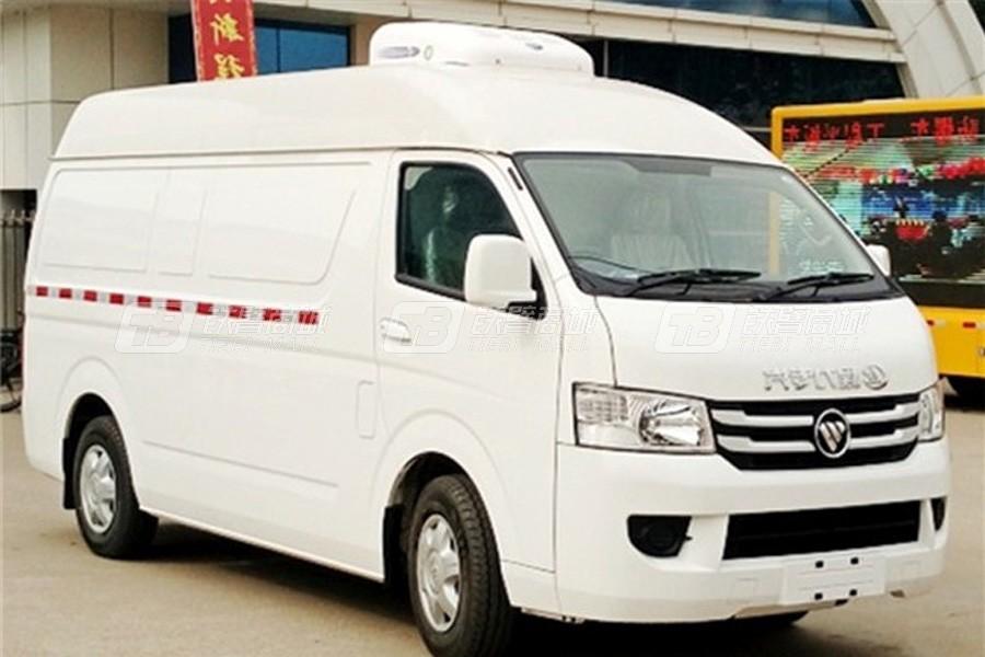 程力专汽BJ5039XLC-C5福田G7商务面包冷藏车
