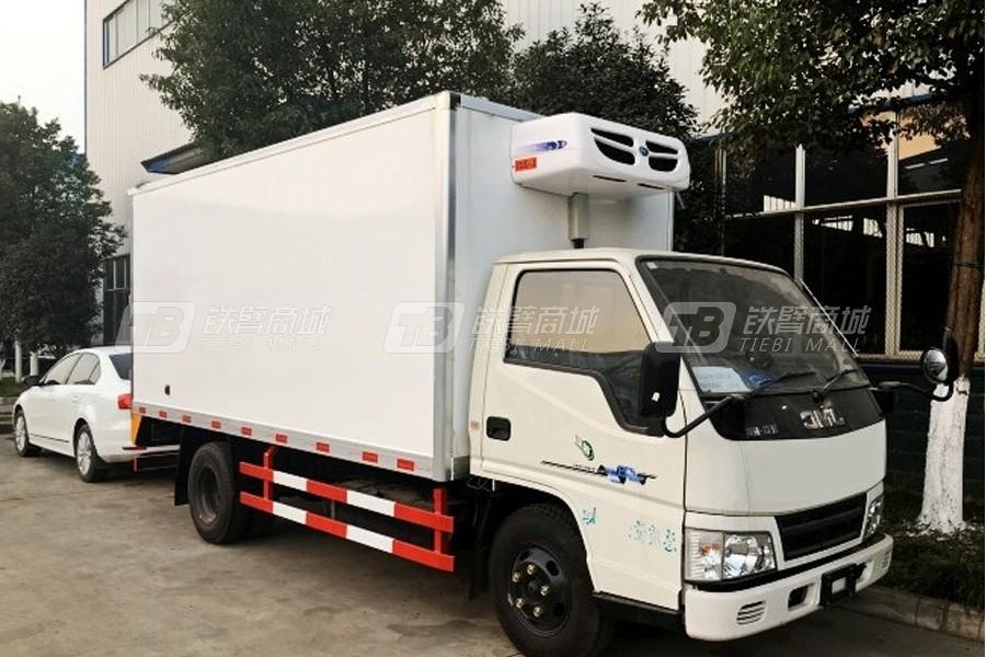 程力专汽江铃新顺达冷藏车(厢长4.2米)