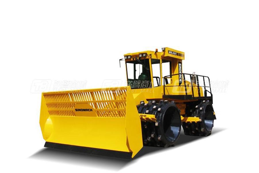 国机洛建GYL332全液压四轮驱动垃圾填方压实机