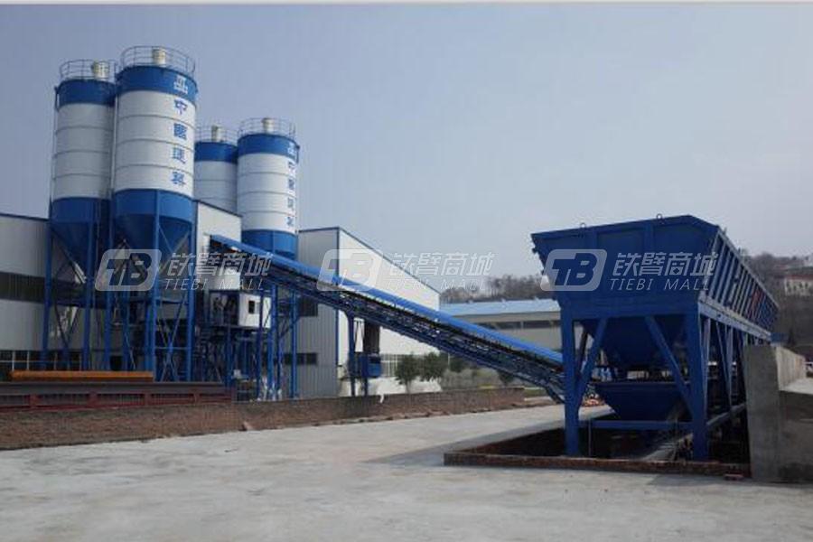 中建机械HZS270PC预制构件专用搅拌站