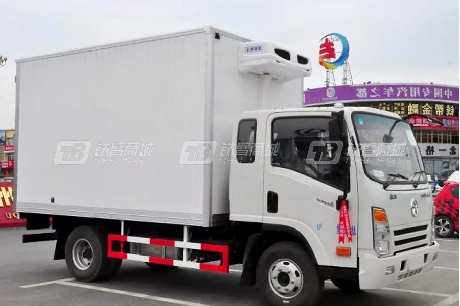 程力专汽大运单排4.1米冷藏车