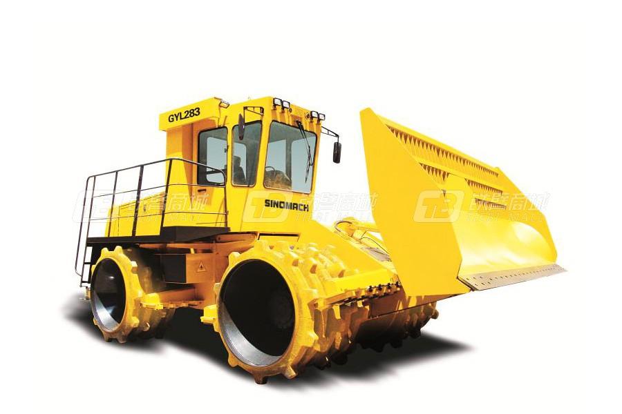 国机洛建GYL283四轮驱动垃圾填方压实机