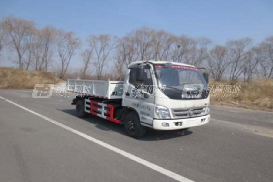 亚洁BQJ5080ZLJR自卸式垃圾车