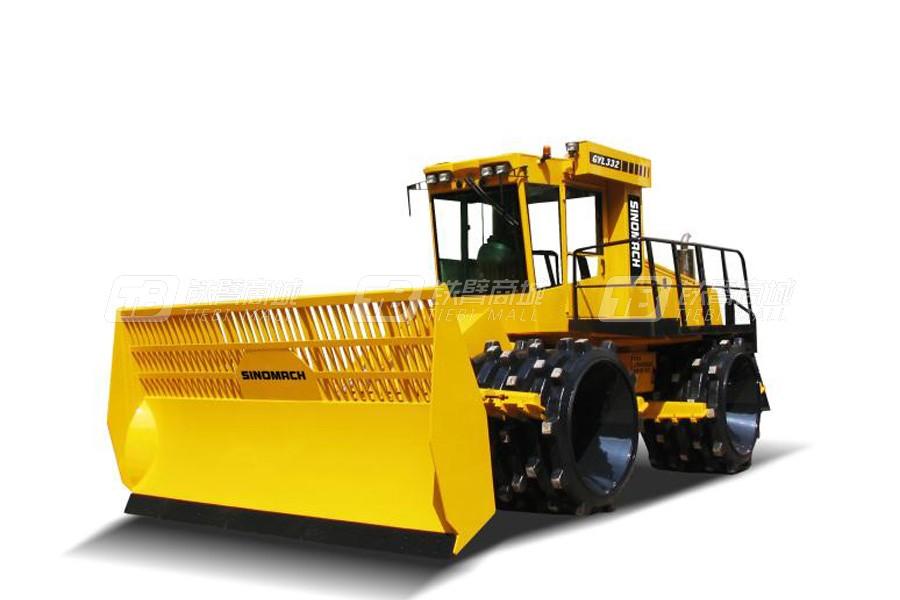 国机洛建GYL233四轮驱动垃圾填方压实机