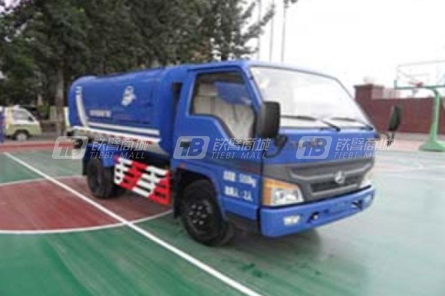亚洁BQJ5053ZLJQ自卸式垃圾车