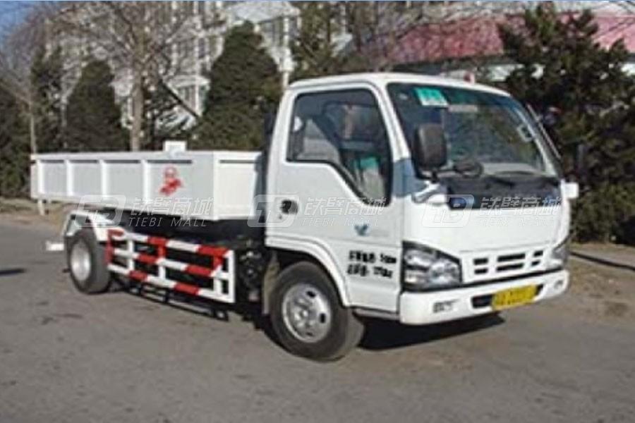 亚洁BQJ5071ZLJN自卸式垃圾车