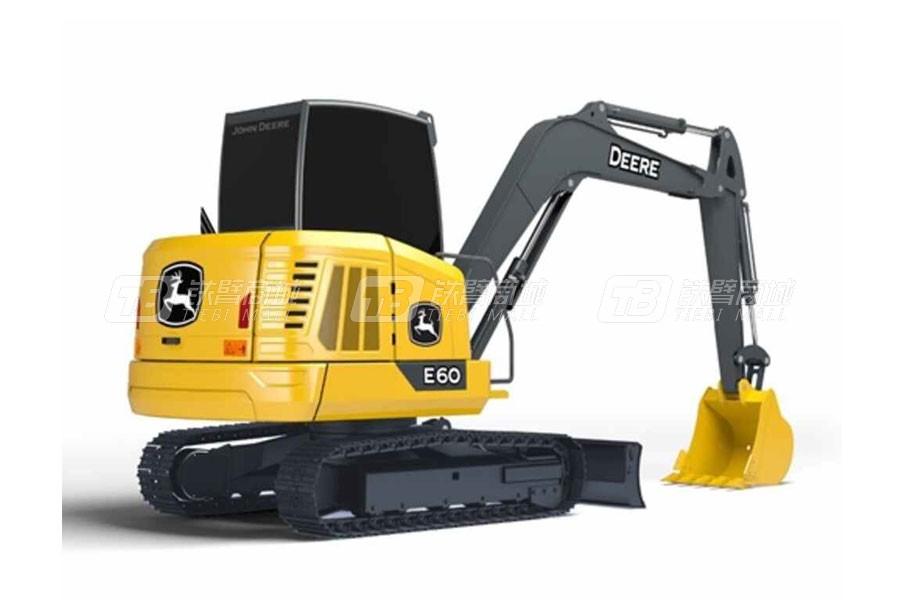 约翰迪尔E60履带挖掘机
