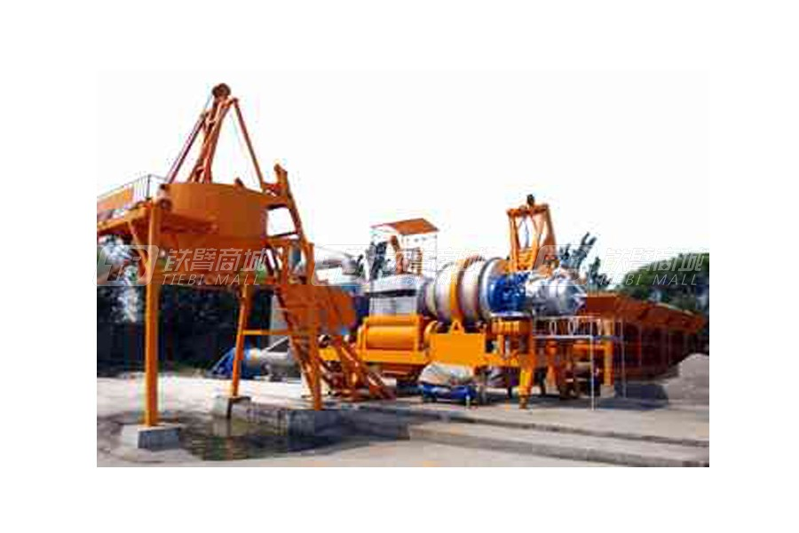 德科达QLB(Y)-40移动式沥青搅拌设备