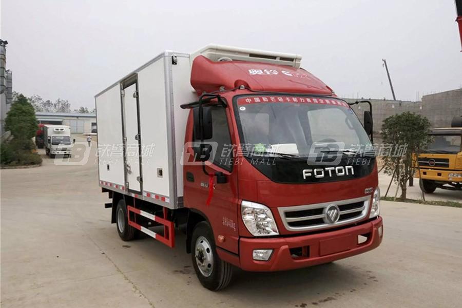程力专汽BJ5049XLC-A7福田奥铃TX冷藏车(厢长4.2米)